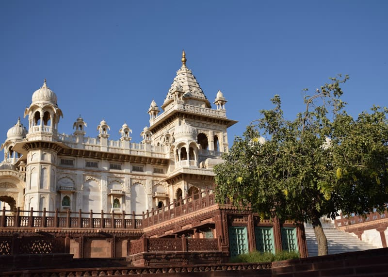 Jaswant Thada in india