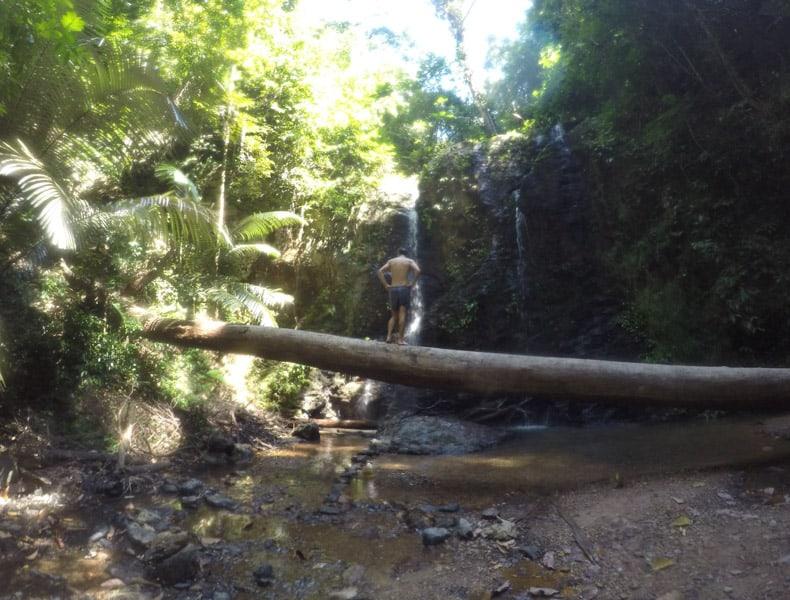 Khlong Chak Waterfall on Koh Lanta