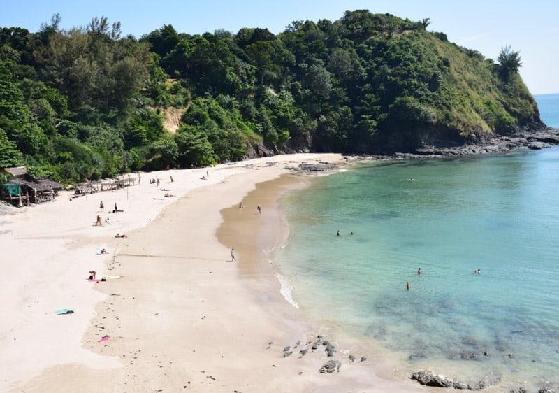 long beach in Koh Lanta