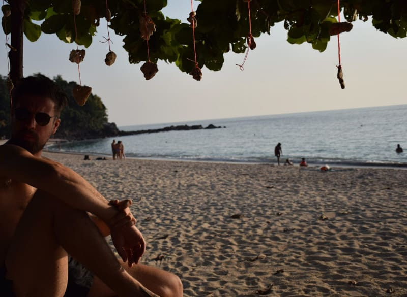 relaxing in Koh Lanta