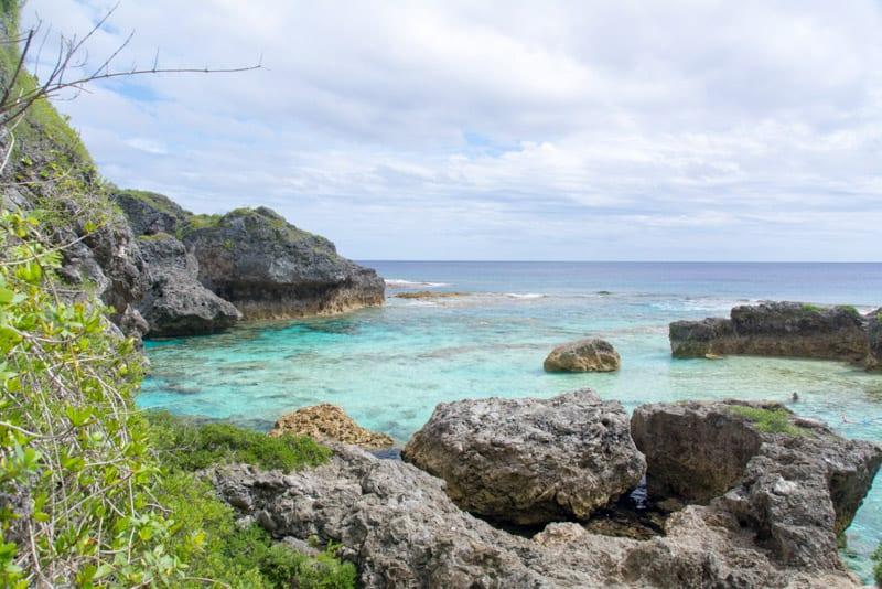 Limu Pools in Niue