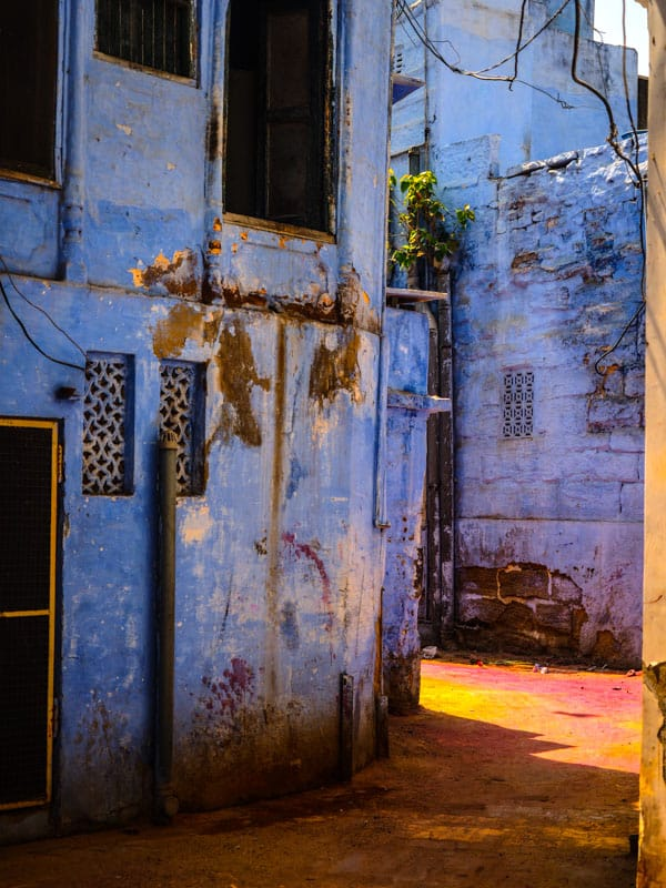 blue city in india