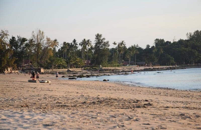 Koh Lanta beach in South Thailand
