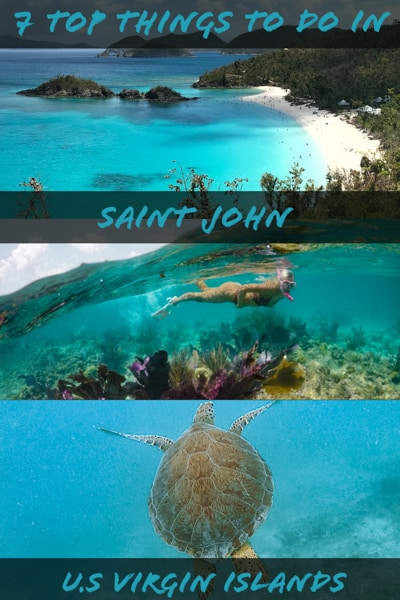 Top Things To Do in Saint John island Virgin Island in Caribbean
