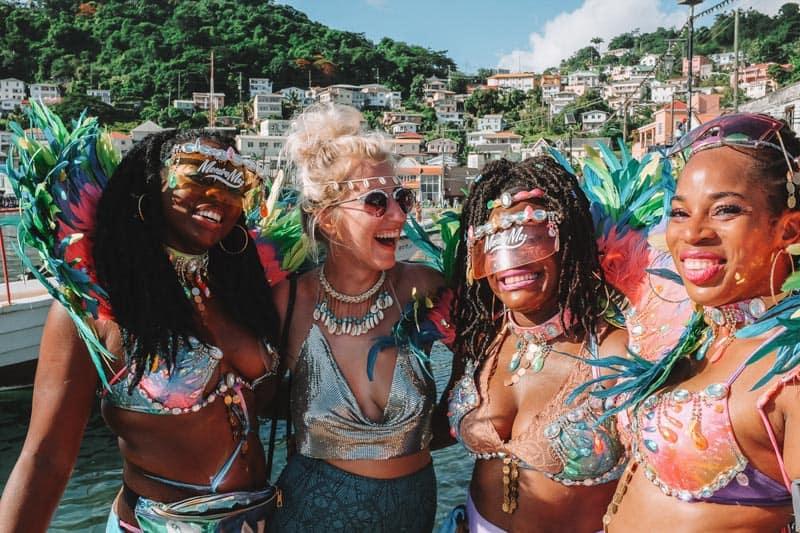Carnival is a must do in Grenada so much fun