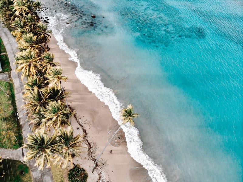 Amazing beach in Grenada