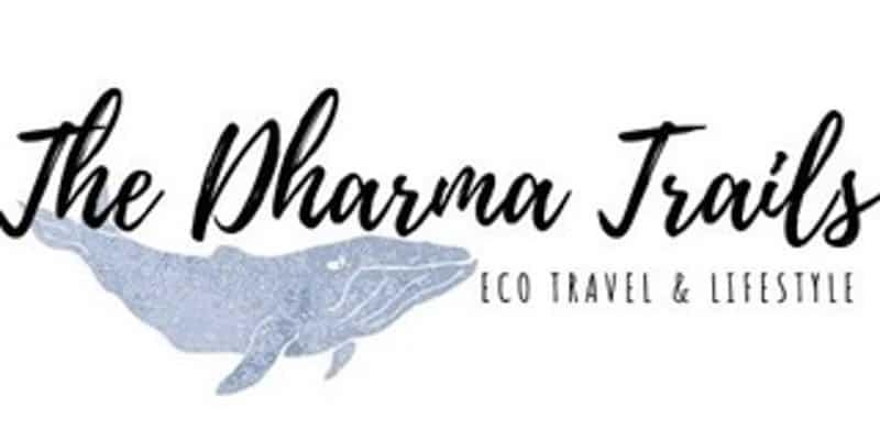 Dharma Trails Aaron travel blog logo