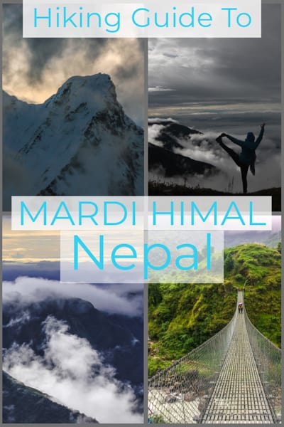 trekking guide to Mardi Himal hike in Nepal