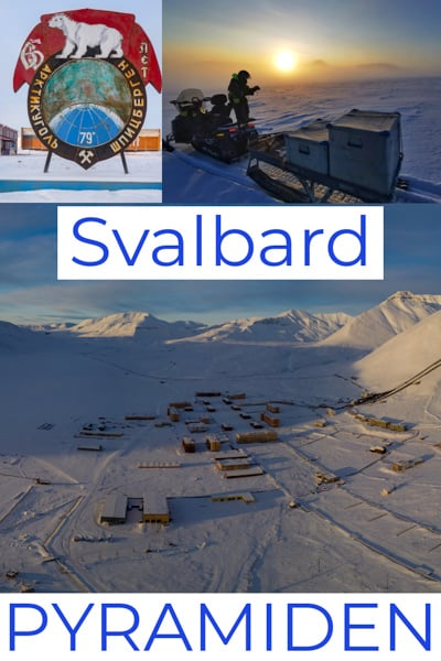 Travel Guide To Pyramiden one of the world´s most northern towns. A ussr minning town in Svalbard/Spitsbergen.