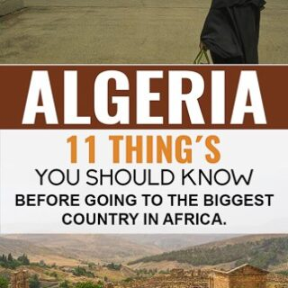 Travel Guide To Algeria, the largest country in Africa.