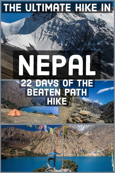 Travel guide to the Ultimate hike in Nepal, 22 days adventure into the Himalaya.
