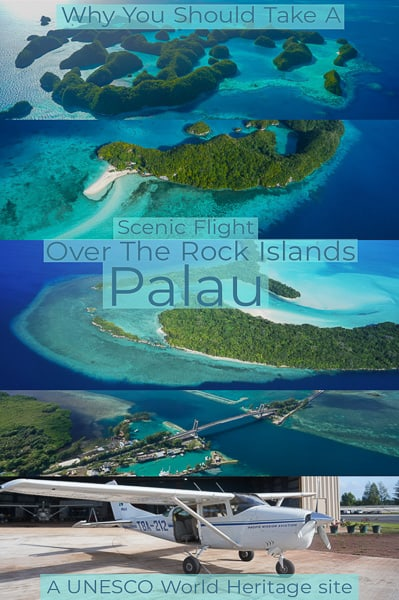 Travel guide to Palau is one of the most beautiful places on earth, and what´s the best way to get to see it all? Take a scenic flight over the rock islands, a Unesco World Heritige site.