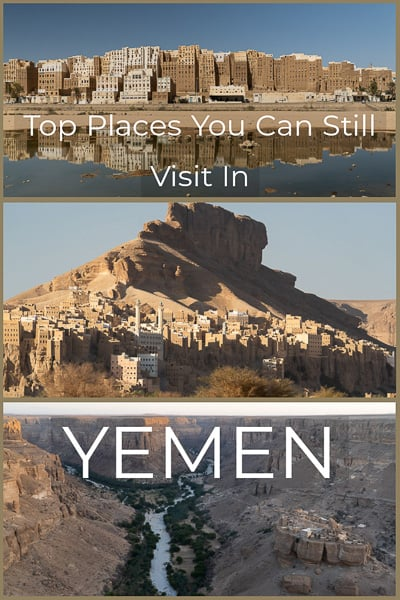 Some places are still safe to visit in Yemen