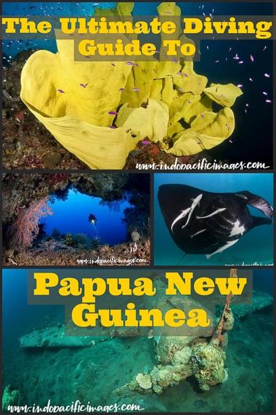Scuba Diving guide to Papua New Guinea