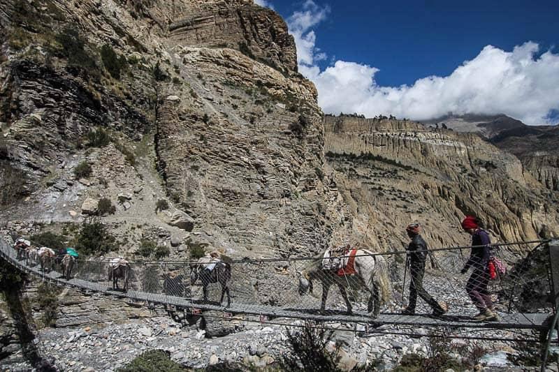 Hiking to nepal