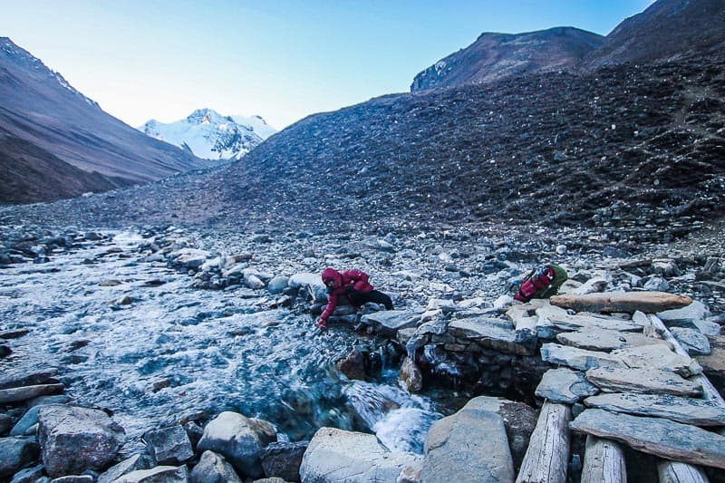remote hiking in nepal