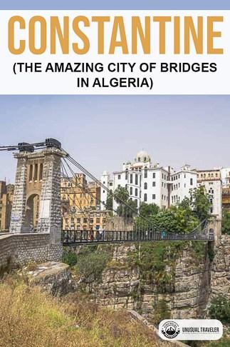 Travel guide to the city of bridges Constantine in Algeria