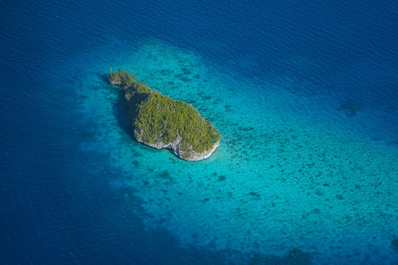 small islands in Palau