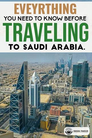 Complete travel guide to Saudi Arabia