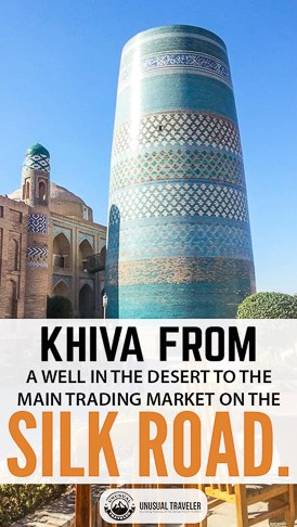 Travel guide to Khiva in Uzbekistan a perfect stop on the historical silk road