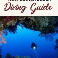 A complete scuba diving guide to papua new guinea