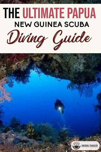 A complete scuba diving guide to Papua New Guniea