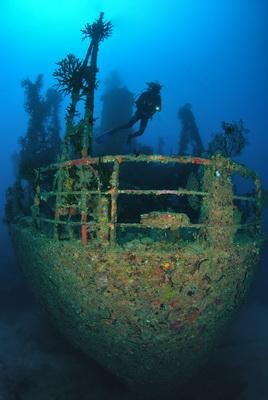 Pacific Gas Wreck in Papua New Guinea (PNG)