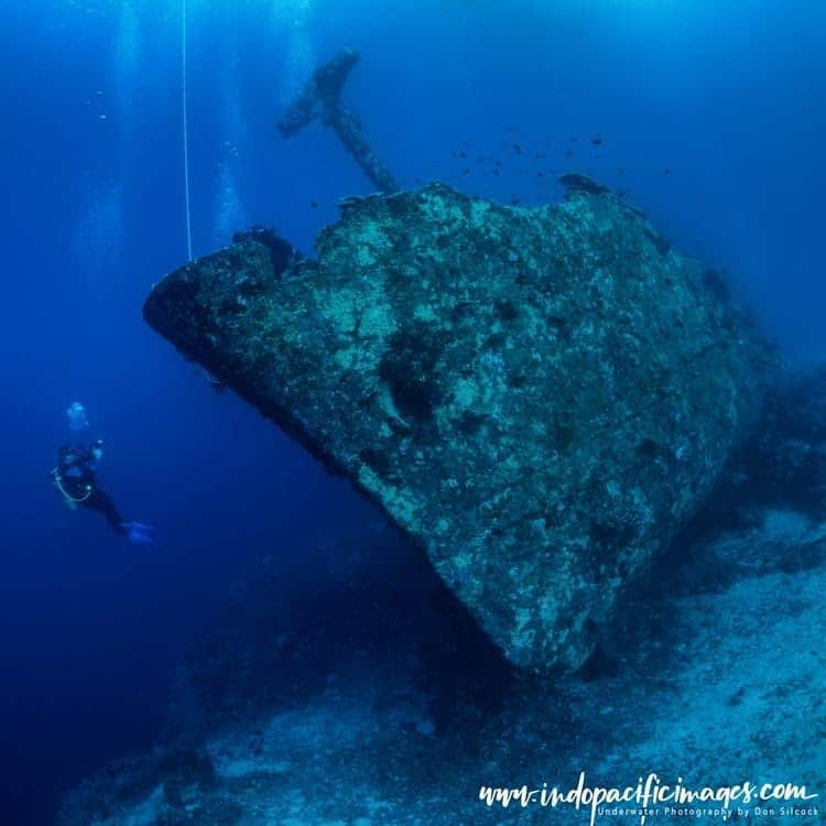 Papua New Guinea (PNG) wreck diving