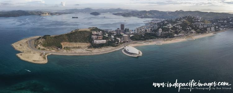 Beachside Port Moresby the capital of Papua New Guinea (PNG)