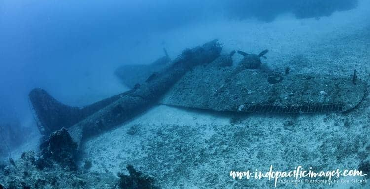 The Incredible BlackJack Wreck in Papua New Guinea (PNG)