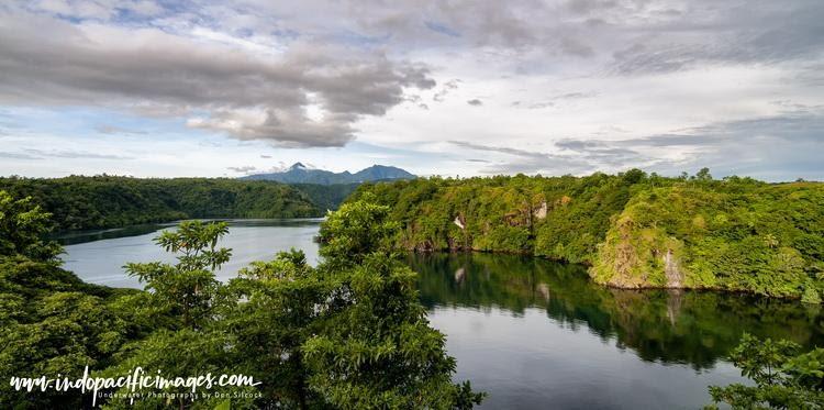 Papua New Guinea (PNG) landscape