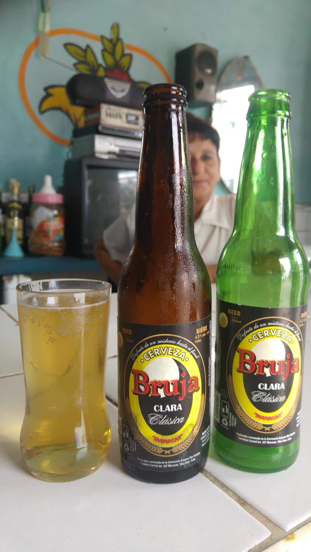 Cerveja Bruja Clásica beer in Cuba