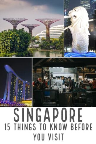 Singapore 15things you should know before you visit