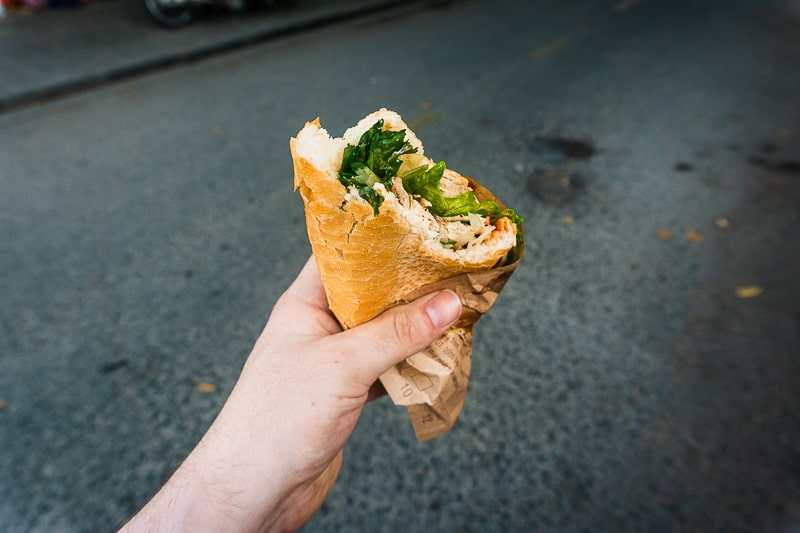 A must try dish in Banh Mi