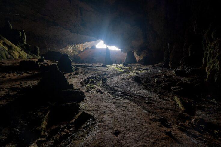 Inside Hoq cave socotra