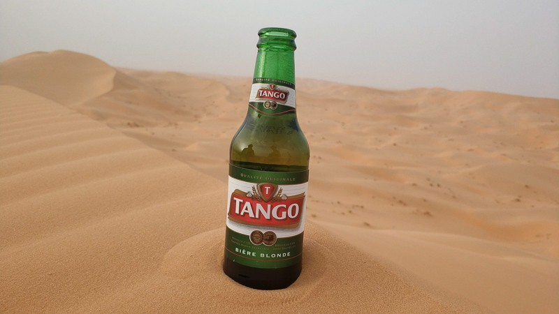 Tango is the most common Algeria beer