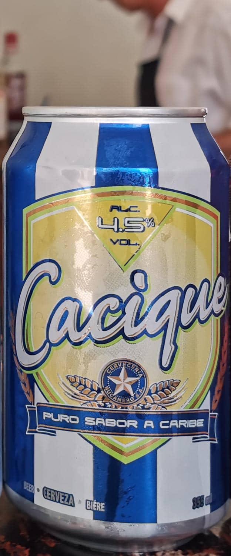 Cacique Cuban beer