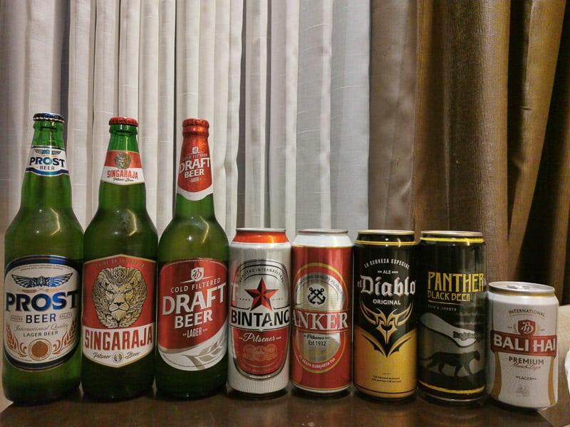 Indonesia beer