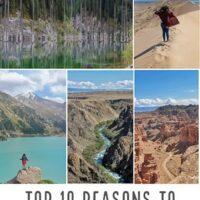 Top reasons to visit Kazhakstan