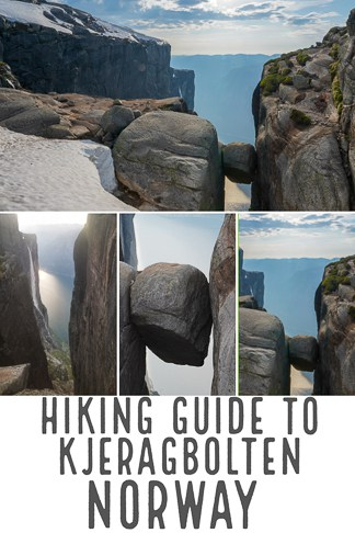 Hiking guide to kjeragbolten in Norway