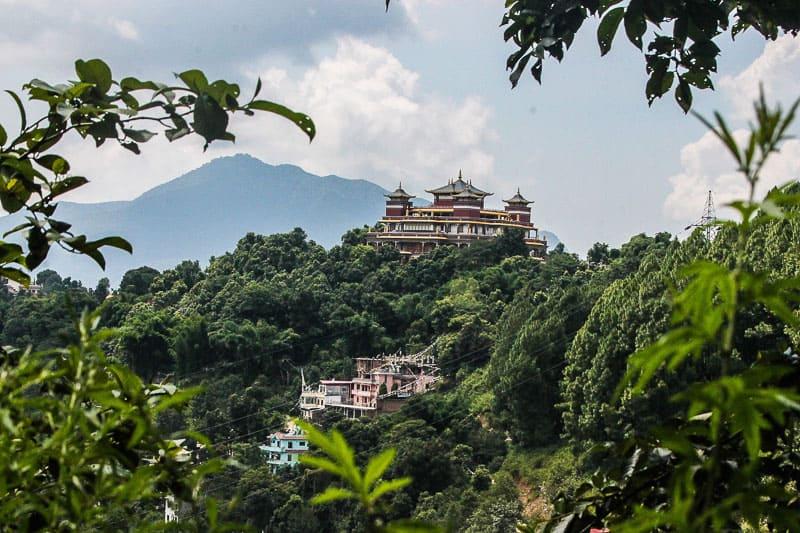 Kopan Monastery in kathmandu Nepal