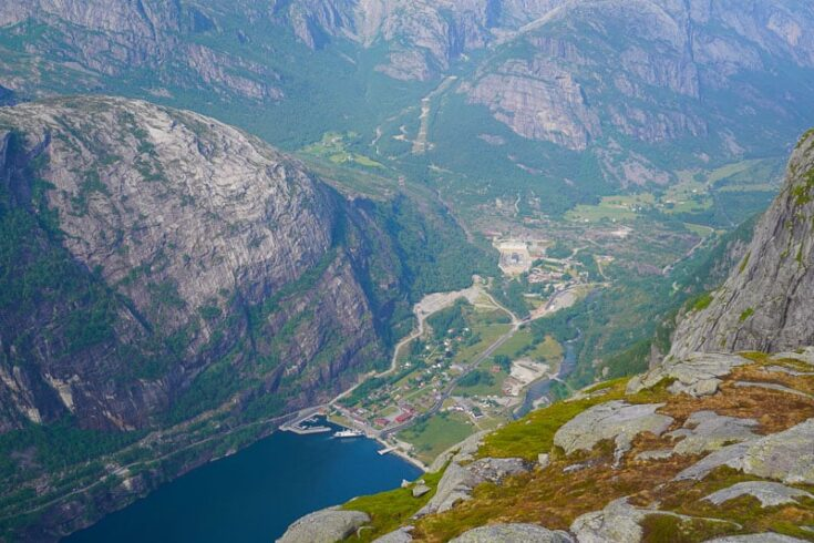 Lysebotn overview norway