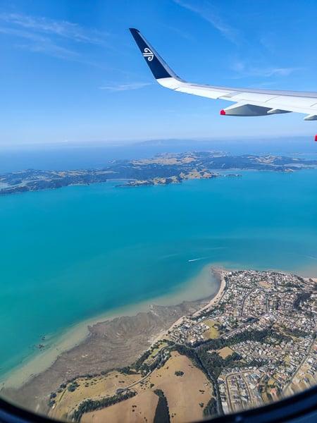 Flying into Nadi the capital of FIji