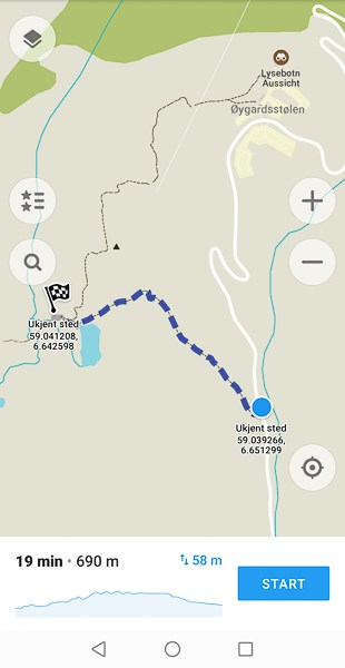 surtcut to Kjeragbolten