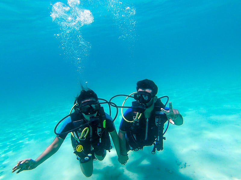 Scuba diving in Fiji is one of the best in the world