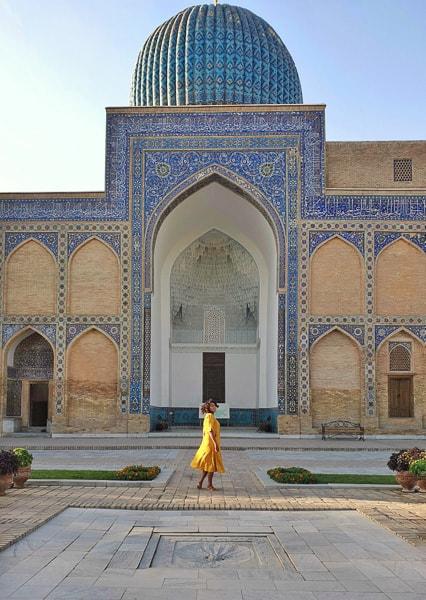 Gur e amir in Samarkand in Uzbekistan