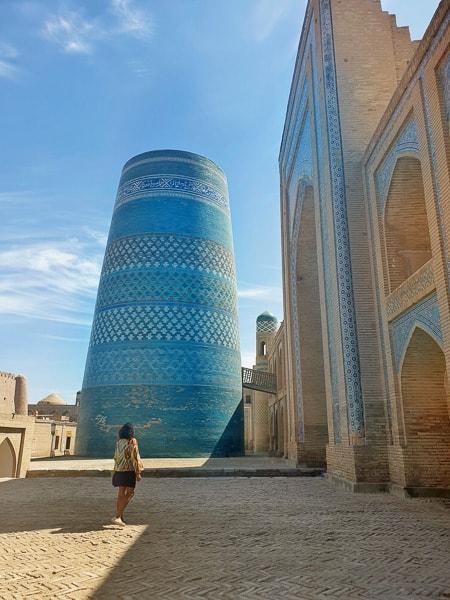 Kalta Minor in Khiva Uzbekistan