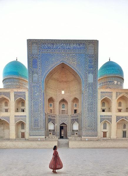 Bukhara square Uzbekistan