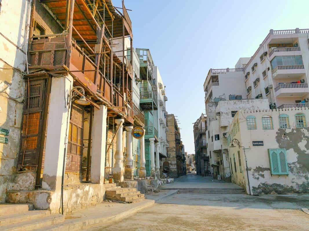 Al-Balad the old part of Jeddah