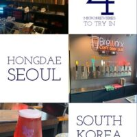 4 Microbreweries To Try In Hongdae, Seoul.